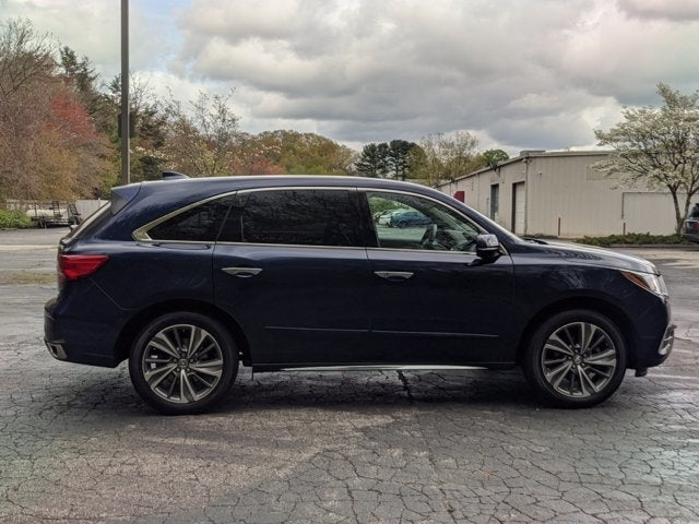 Acura MDX SHAWD With Technology Package Norwich CT New - 2018 acura mdx hitch