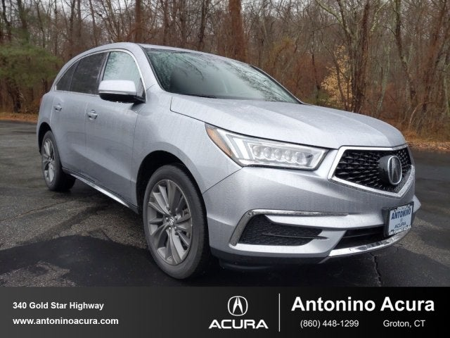 Acura MDX SHAWD With Technology Package Norwich CT New - Acura mdx tires